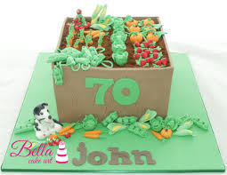 vegetable garden birthday cake bella cake art