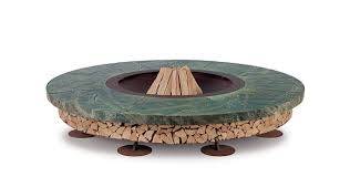 Flat Packed Portable Fire Pit From Boutique Camping Uk - garden furniture goes super bling daily mail online
