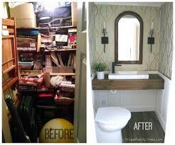 new basement bathroom no major construction how to install a