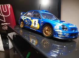 subaru autoart 1 43 autoart wrc subaru impreza rally portugal 2001 dx