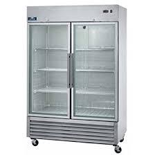 refrigerators with glass doors amazon com arctic air agr49 two door glass reach in refrigerators