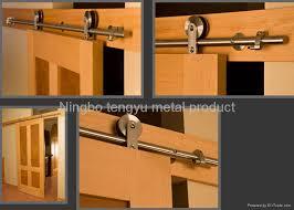 How To Install Barn Door Hardware Stainless Steel Barn Door Hardware Ty079 Tengyu China