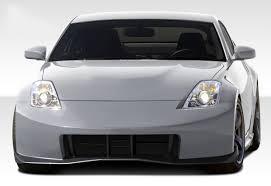 nissan 350z rear spoiler nissan 350z 2003 2008 350z front bumper u0026 front lip 2003