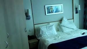 Freedom Room Divider Navigator Of The Seas Cabin 1804 Family Panoramic Ocean View Youtube