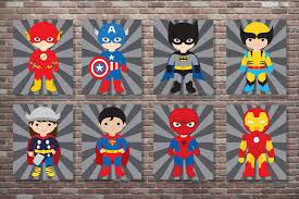 boys superhero bedroom superhero decor superhero wall art superhero art digital