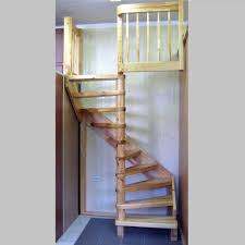Staircase Ideas For Small Spaces Rustic Wooden Spiral Stairs For Small Space For Home