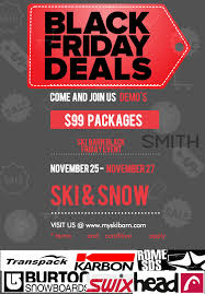 black friday lease deals black friday sales and deals the ski barn
