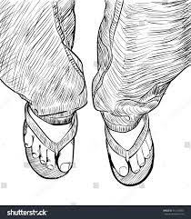hand drawn sketch male feet on stock vector 713152054 shutterstock
