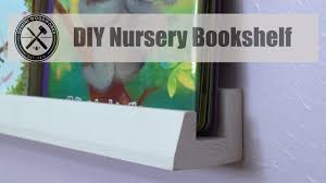 nursery bookshelf youtube