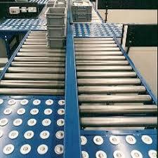roller ball table top twin lane conveyor c trak automated conveyor systems