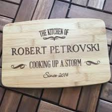 personalised cutting boards personalised bamboo chopping board 30cm personalised for me