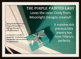 creating a tiffany blue like color using chalk paint the purple