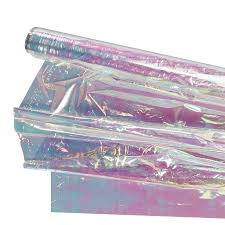 iridescent wrapping paper colored flower cellophane wrapping paper view flower