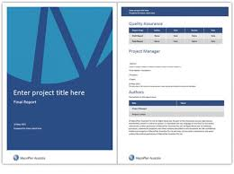cover page of report template in word project front page design in ms word professional and high