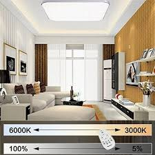 Wohnzimmer Deckenleuchten Modern Mctech 36w Dimmbar Led Deckenleuchte Modern Deckenlampe Flur