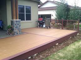 Backyard Flooring Options by Outdoor Entertaining Area Drab Slab Now Fabpatio Deck Flooring