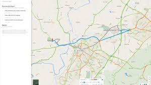 Google Maps Traffic Typical Traffic Pattern Information From Google Maps Bespoke