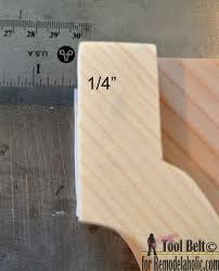 Kreg Jig Toy Box Plans Plans Diy Free Download Scroll Saw Puzzle by Remodelaholic Diy Vintage Inspired Corbel Building Plan U0026 Pattern