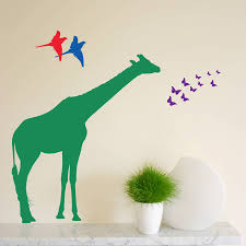individual safari animal wall stickers new sizes by the bright individual safari animal wall stickers main