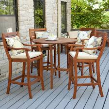 Bar Height Patio Dining Sets - outdoor dining sets bar height video and photos madlonsbigbear com