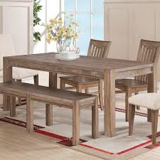 Farm Tables With Benches Rustic U0026 Farmhouse Tables You U0027ll Love Wayfair