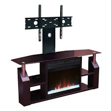 mounted electric fireplace tv stand home design ideas
