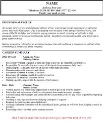 professional resume samples free delivery driver resume sample free text format template vinodomia