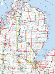 Upper Peninsula Michigan Map by Michigan Map With Cities With Of Map Of Michigan Cities