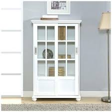 Solid Wood Bookcases With Glass Doors Solid Wood Bookcase With Glass Doors Simpleclick Me