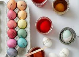 easter egg dyes how to dye easter eggs the easy way allrecipes