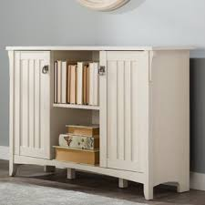 wood office storage cabinets you u0027ll love wayfair