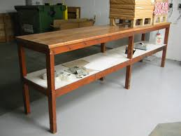 wooden work benches bench decoration