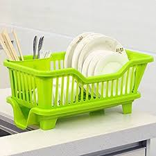 House Of Quirk Kitchen Sink Dish Drainer Drying Rack Washing - Kitchen sink plate drainer