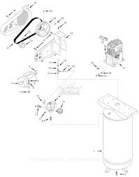 campbell hausfeld vt619503 parts diagram for air compressor parts