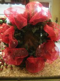 kristen u0027s creations christmas mesh wreath tutorial