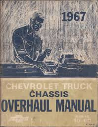 1967 chevy 10 60 truck repair shop manual original