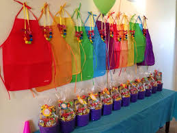 Rainbow Themed Birthday Favors by Birthday Ideas Ideas And Birthday