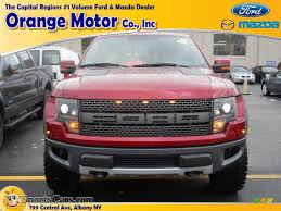 Ford Raptor Red - 2014 ford f150 svt raptor supercrew 4x4 in ruby red a00110