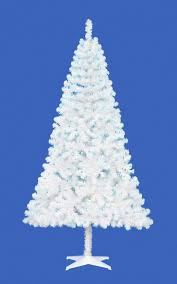 white tree with blue lights baby artificial