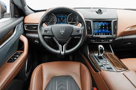 maserati car interior 2017 maserati levante 2018 motor trend suv of the year contender