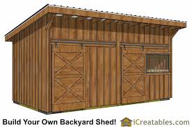 backyard horse barns 10x20 horse barn plans with wood foundation