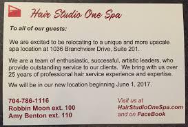 hair salon spa concord north carolina