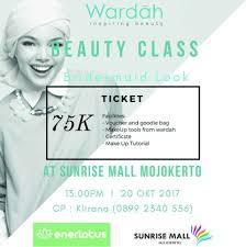 Wardah Okt class bersama wardah cosmetics dengan tema bridesmaid look