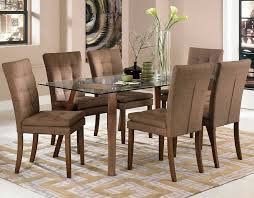 Fabric Chairs For Dining Room Magnificent Material Dining Room Chairs Eizw Info