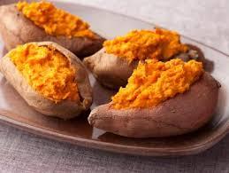 baked sweet potato food network recipe the neelys food