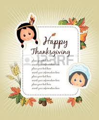 happy thanksgiving day celebration flyer royalty free cliparts