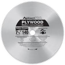 Best Blade For Laminate Flooring Avanti Pro 7 1 4 In X 140 Tooth Plywood Saw Blade P07140r The