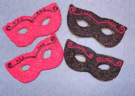 masquerade cookies honey cookies masquerade mask i made these for a local li flickr