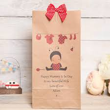 to be gifts to be new personalised gift bag by berry apple