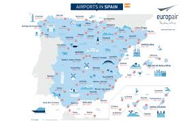 Burgos Spain Map by Map Airports Spain